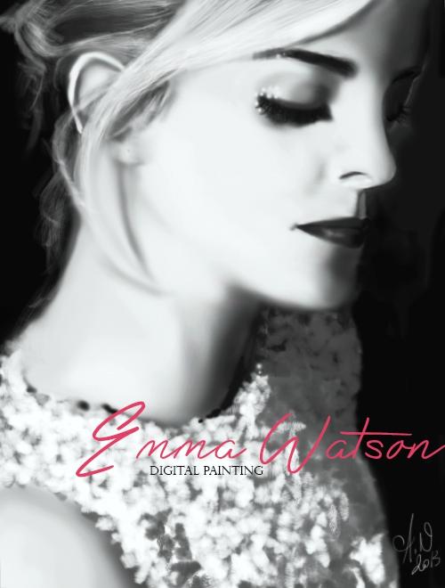 Emma Watson by x--m0n-art--x